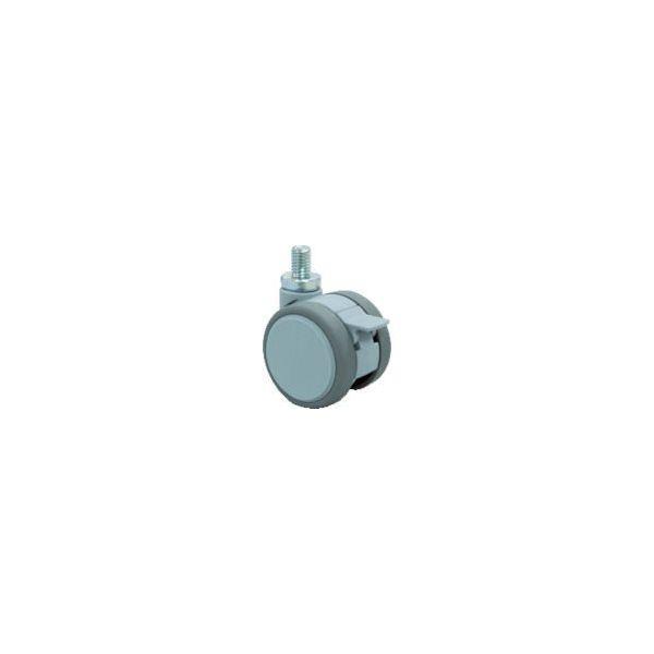 東海キャスター 東海 ねじ込み双輪キャスター 75径 自在S付 M10x1.5 F075N10S 1個 389-0694(直送品)