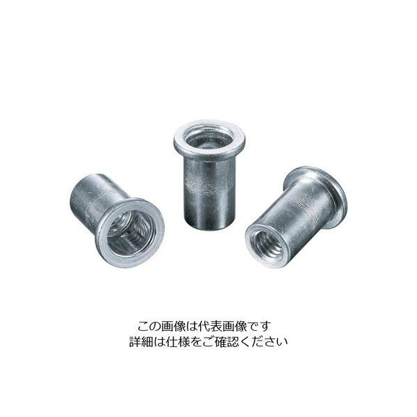 ロブテックス エビ ナット(1000本入) Dタイプ アルミニウム 4ー2.0 NAD4M 125ー9954 (直送品)