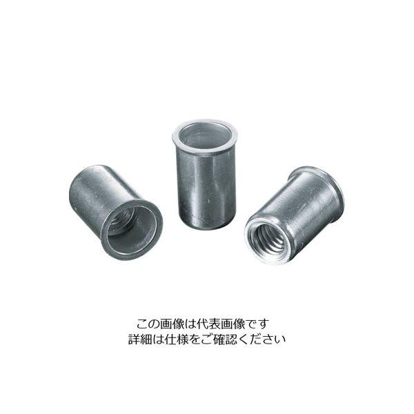 ロブテックス エビ ナット(1000本入) Kタイプ アルミニウム 6ー4.0 NAK640M  372ー3712 (直送品)
