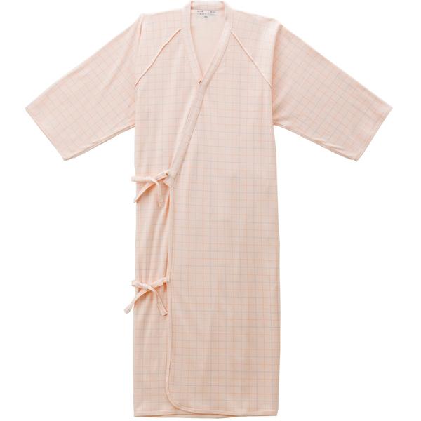 ケアねまき(メリヤスタイプ) ピンクL 5075 日本エンゼル (直送品)