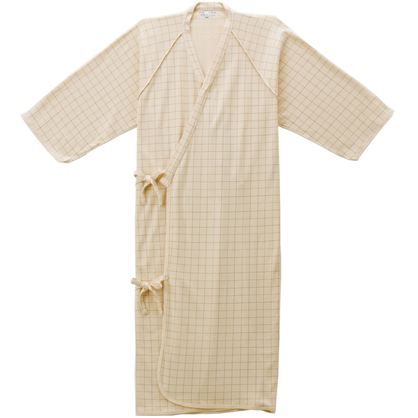 ケアねまき(メリヤスタイプ) ベージュM 5075 日本エンゼル (直送品)