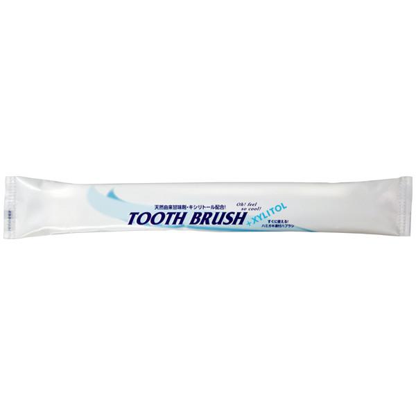 歯みがき液付歯ブラシ