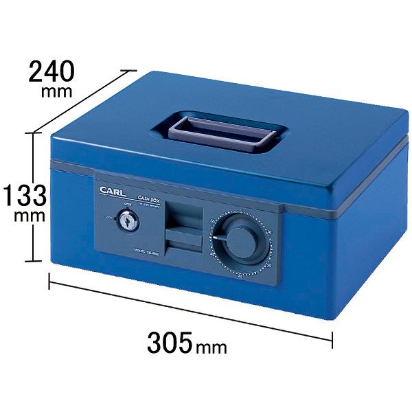 カール事務器 キャッシュボックス 1個