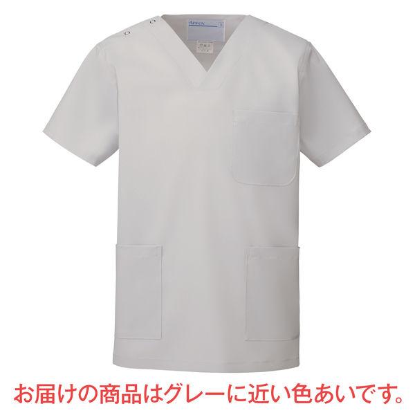 カラースクラブ(男女兼用) 133-90 シルバーホワイト SS (直送品)