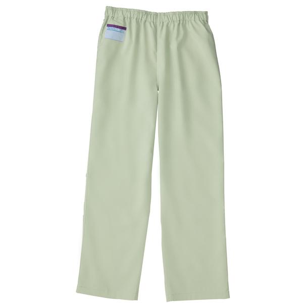 KAZEN カラーパンツ(男女兼用) スクラブパンツ 医療白衣 ミントグリーン 3L 155-96 (直送品)
