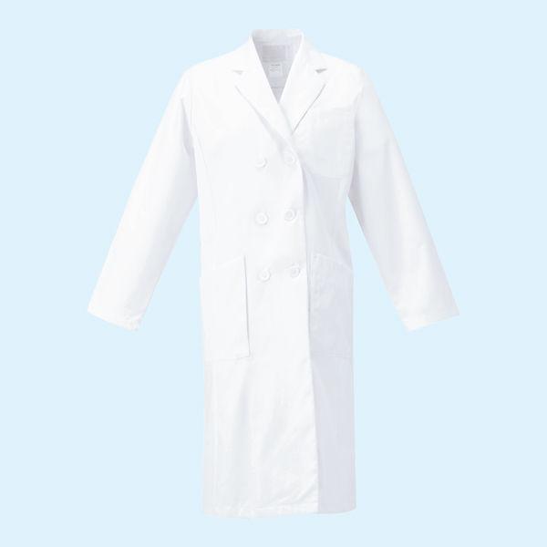 オンワード 白衣 レディスドクターコート(ダブル 診察衣) CO-6004 ホワイト M (取寄品)