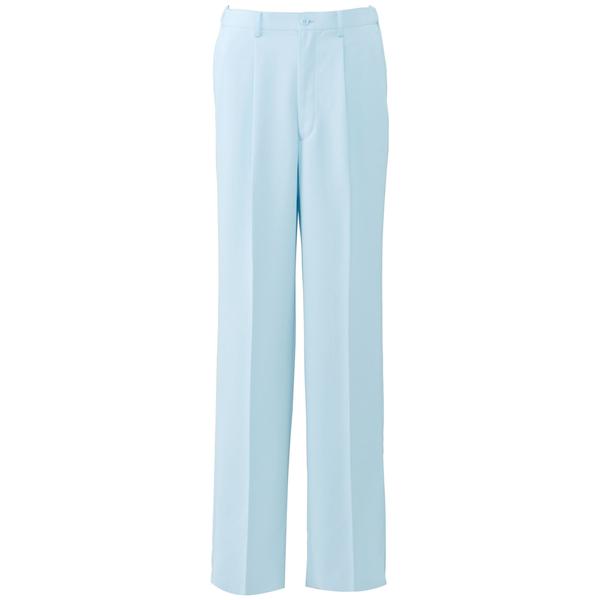 オンワード 白衣 PR-5002 メンズパンツサックスブルー L 1枚 (取寄品)