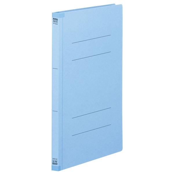 フラットファイル背補強 藍 A4縦10冊