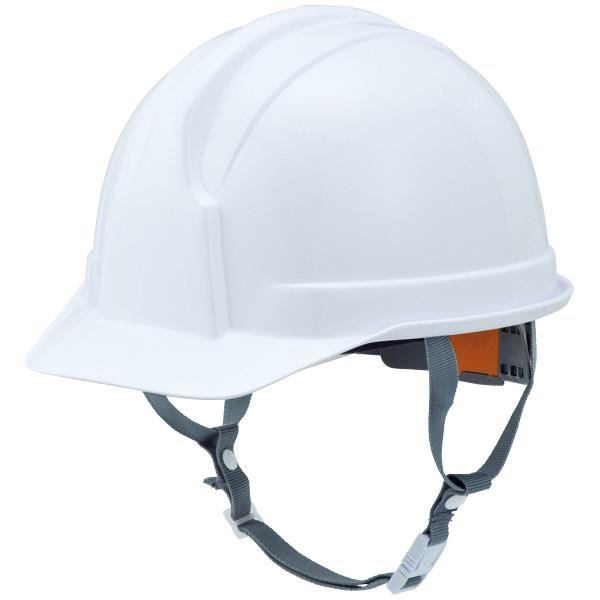STARLITE(スターライト販売) ヘルメット(アメリカンタイプ)SS-100型 ABS樹脂 白 頭囲/54cm~61cm FS-100AJZ-W 1個