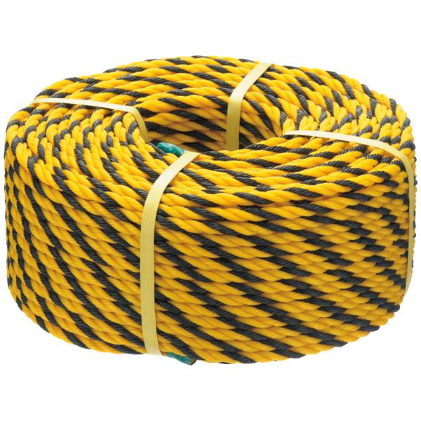 標識ロープ トラロープ 1巻(100m巻) まつうら工業