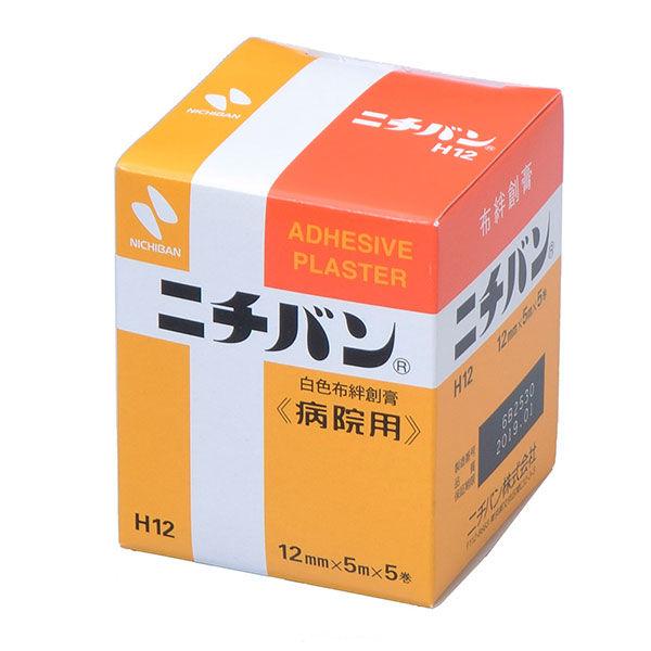 ニチバン ニチバン<病院用> 12mm×5m H12 1セット(50巻:5巻入×10) (取寄品)