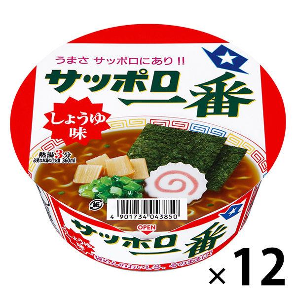 サッポロ一番 しょうゆ味どんぶり 12食