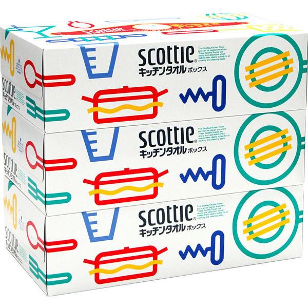 スコッティ キッチンタオルボックス 3箱