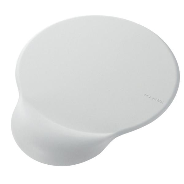 エレコム dimp gel EX マウスパッド ホワイト MP-101WH (直送品)