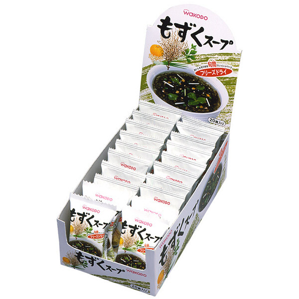 WAKODOもずくスープ1箱(20食入)