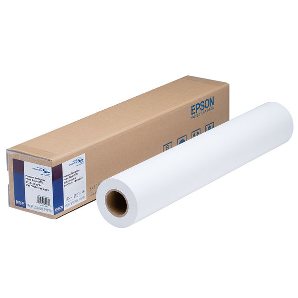 セイコーエプソン プロッタ用紙 ロール紙 プロフェッショナルフォトペーパー薄手半光沢 PXMCA2R13 (取寄品)