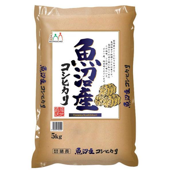 新米【精白米】魚沼産コシヒカリ 5kg