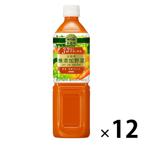 無添加32種の野菜と果実930g 12本