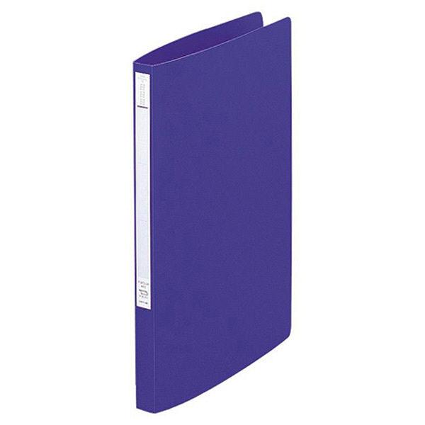 リヒトラブ スーパーパンチレスファイル A4タテ 青 F347U 1セット(30冊:10冊入×3箱)