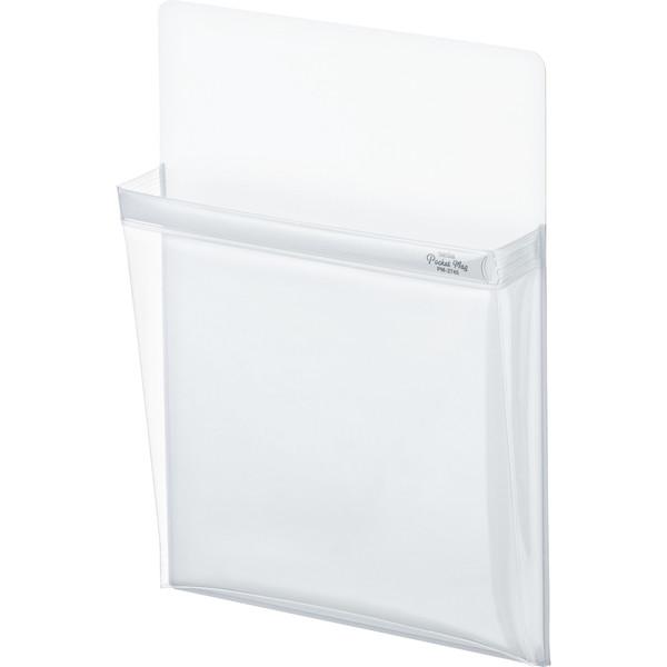 マグネットポケット ポケマグ A4 白