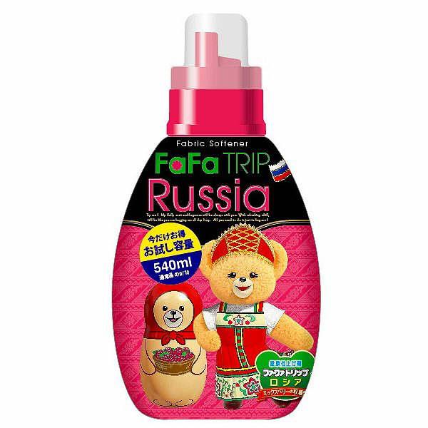 ファーファ柔軟剤濃縮ロシア本体