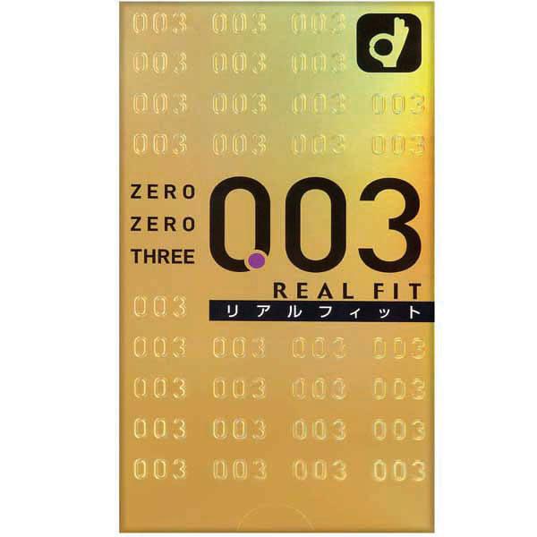 ゼロゼロスリーRリアルフィット10個M
