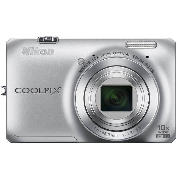 ニコン デジタルカメラ「COOLPIX」 S6300 クリスタルシルバー COOLPIXS6300SL