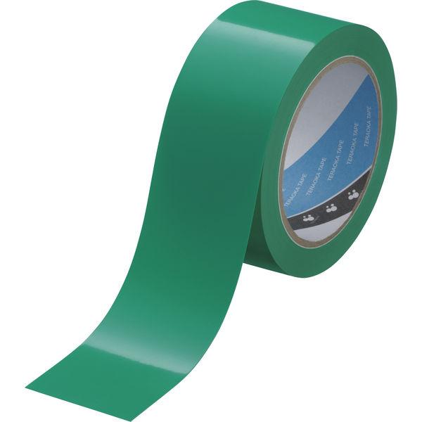 寺岡製作所 「現場のチカラ」 ラインテープ(緑) 0001 1巻