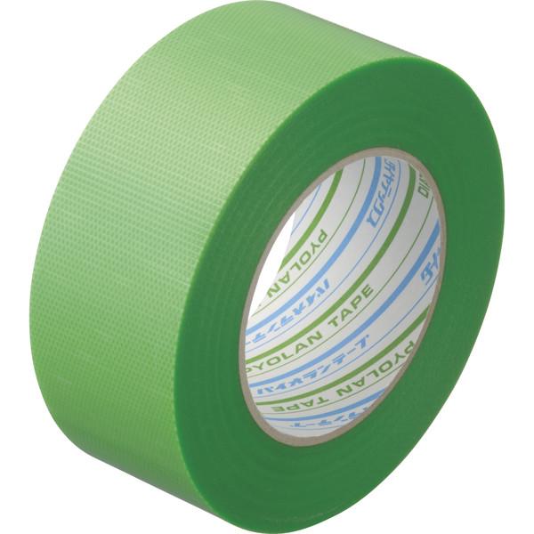 ダイヤテックス パイオランクロス粘着テープ 塗装養生用 グリーン 幅50mm×50m巻 Y-09-GR