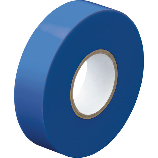 ビニールテープ青 幅19mm×長さ20m