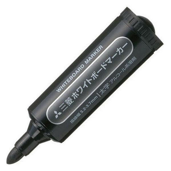 三菱鉛筆(uni) ホワイトボードマーカー 太字丸芯 黒 PWB7M 5本