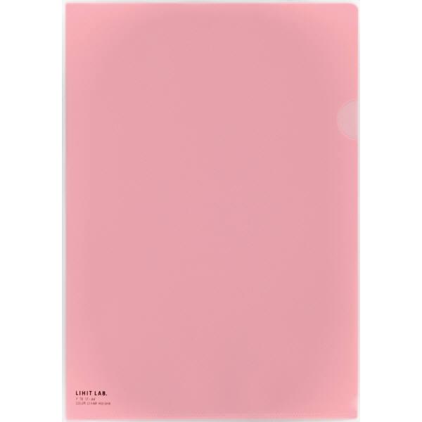 クリヤーホルダー ピンク A4