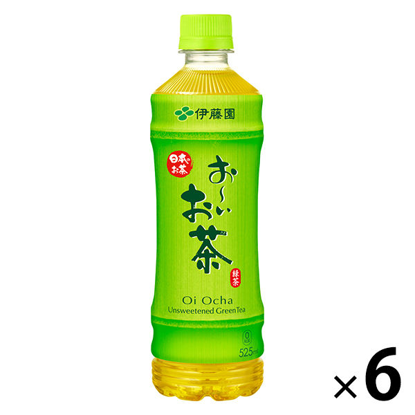 伊藤園おーいお茶 緑茶 525ml 6本