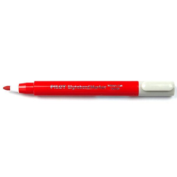パイロット ホワイトボードマーカー 細字・小型 赤 WBMA-7SN 5本