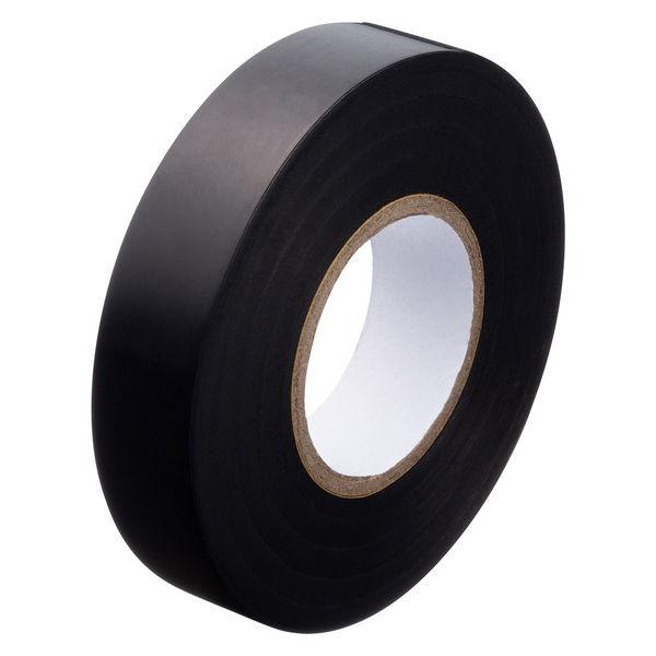 ビニールテープ黒 幅19mm×長さ20m
