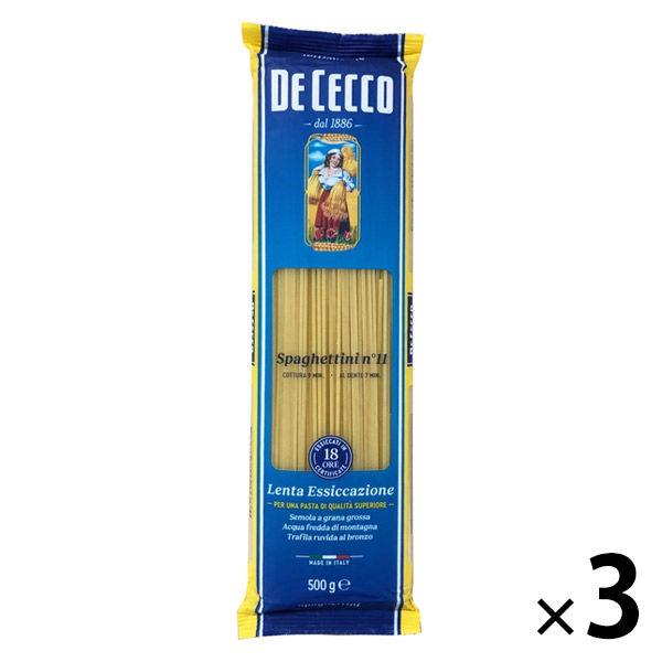 ディチェコ No.11 スパゲッティーニ