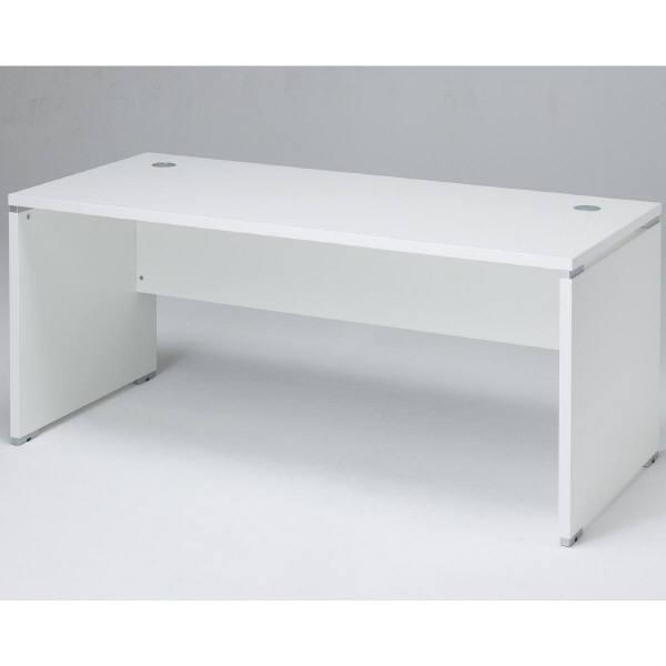 ARAN WORLD エイドス(EIDOS) 平机 引出し無し ホワイト 幅1600×奥行700×高さ700mm 1セット(2梱包) (取寄品)