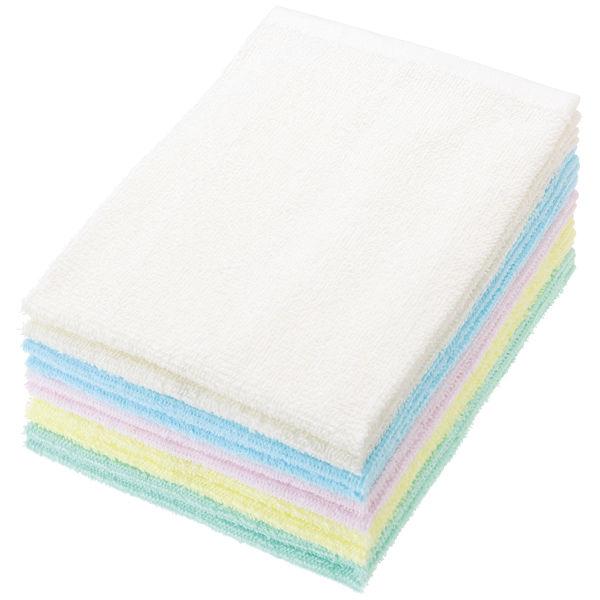 おしぼりタオル カラーアソート 10枚