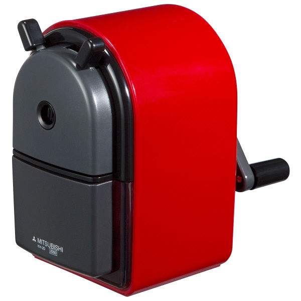 三菱鉛筆(uni) 手動シャープナー 赤 KH20.15 078e21d3238