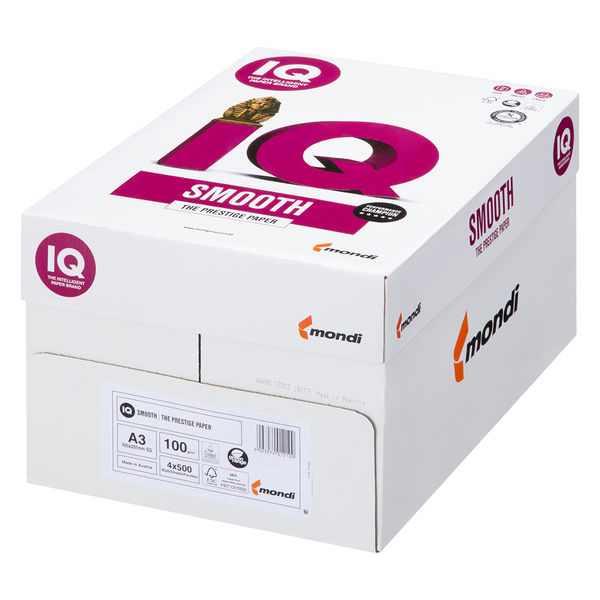 mondi IQ selection smooth 1冊(500枚入) 100g/m2 A3
