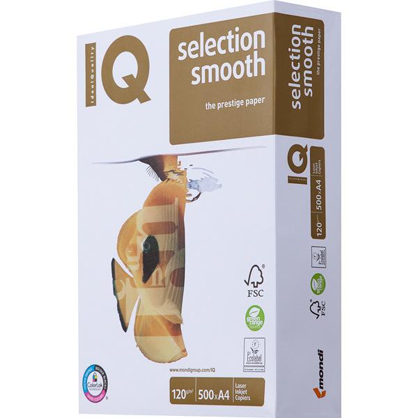 mondi IQ selection smooth 1冊(500枚入) 120g/m2 A4