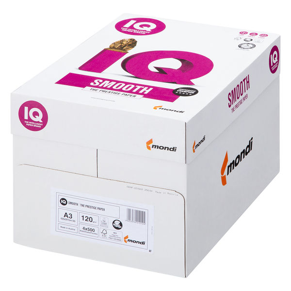mondi IQ selection smooth 1冊(500枚入) 120g/m2 A3