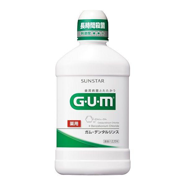 GUM デンタルリンス 500mL