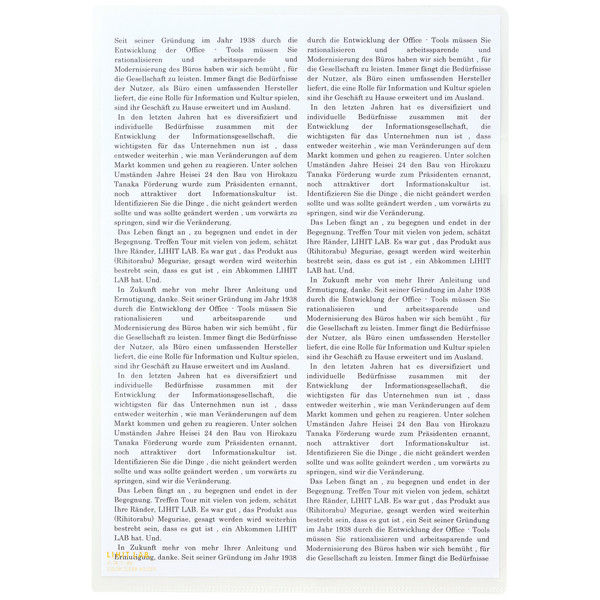 リヒトラブ カラークリヤーホルダー 乳白 A4タテ F78-1 1パック(5枚入)