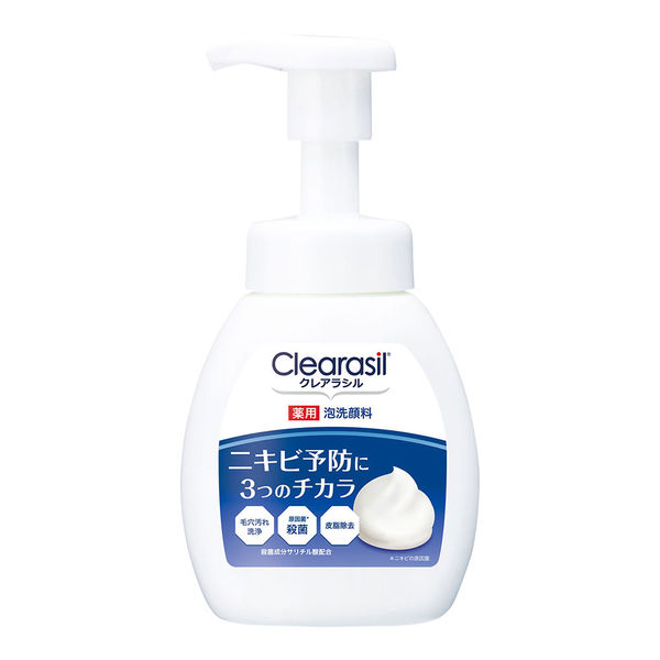クレアラシル 薬用泡洗顔フォーム10×