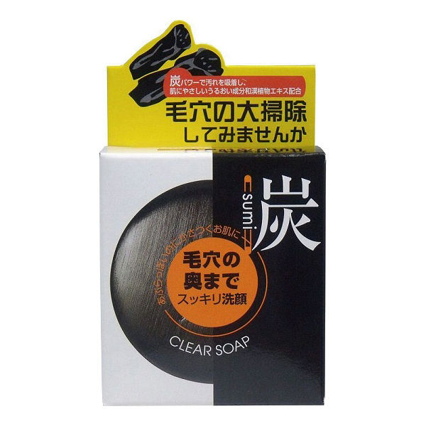 炭透明石鹸 100g