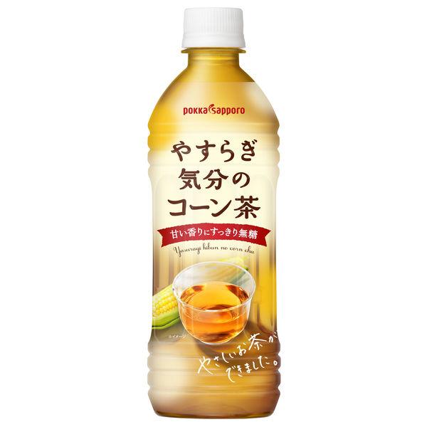 やすらぎ気分のコーン茶500ml24本