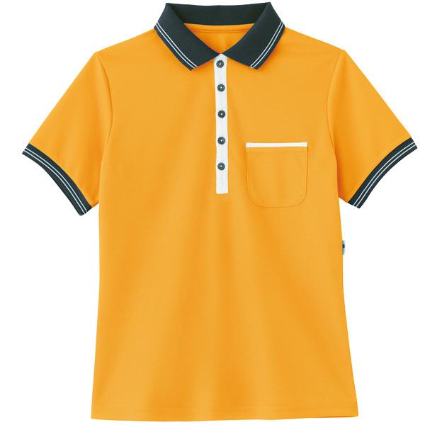 カーシーカシマ ポロシャツ オレンジ L HM-2179c/14 L (取寄品)