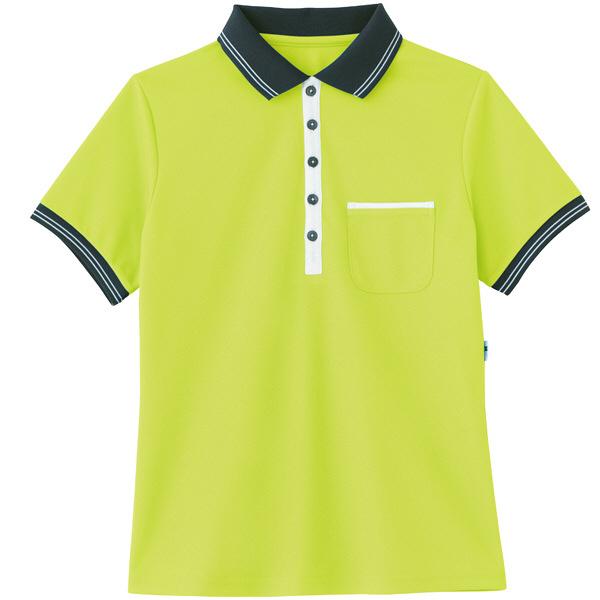 カーシーカシマ ポロシャツ アップルグリーン 3L HM-2179c/4 3L (取寄品)