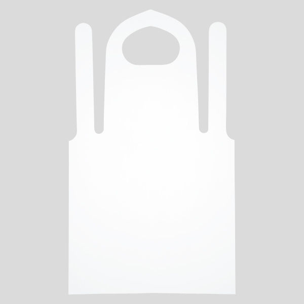 使い切りポリエプロン 1箱(100枚入)